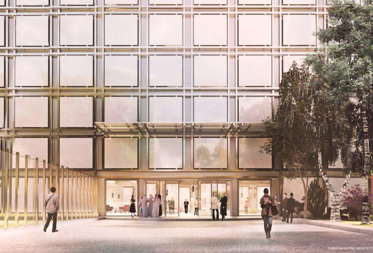 MICROCOSME - ITU Headquarters - New Building Project - Geneva - 1er Prix - building © Christian Dupraz Architecture Office © Wiliam Cyr Lamy